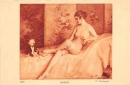 "ILLUSTRATEUR - G. THOMPSON - ""INTIMITE"" - FEMME - NU FEMININ - Illustrateurs & Photographes"