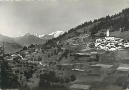 """CPSM FRANCE 73 """"Peisey - Nancroix , Vue Générale Le Mont Blanc"""" - Altri Comuni"""