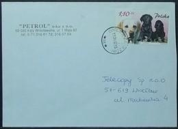 Poland - Cover 2002 Dog 1,10Z Solo - Hunde