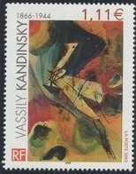 N° 3585 Wassily Kandisky  Faciale 1,11 € - Francia