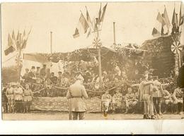 Carte Postale  Photo   Militaria   Fête  Des Poilus 155 - A Identifier