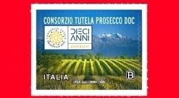 Nuovo - MNH - ITALIA - 2019 - 10 Anni Del Riconoscimento Del Prosecco DOC – Vino – Logo - B - 6. 1946-.. Repubblica