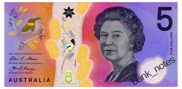 AUSTRALIA 5 DOLLARS 2016 Pick 62 Unc - 2005-... (polymer Notes)