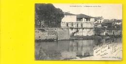 SAINT PALAIS La Bidouze En Aval Du Pont (Barthaburu) Pyrénées Atlantiques (64) - Saint Palais