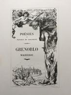 (Grenoble) BLANC Dit La Goutte : Grenoblo Malhérou, 1864, Illustré Par Diodore Rahoult. - Rhône-Alpes