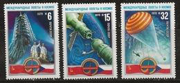 Russie 1978 N° Y&T :  4463 à 4465 ** - Neufs