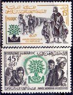 MAROCO -  World Refugee Year  EMBLEM - **MNH - 1960 - Vluchtelingen