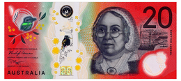 AUSTRALIA 20 DOLLARS 2019 Pick 64 Unc - 2005-... (Polymer)