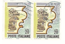 1966 £20 VISITATE L'ITALIA - 1946-.. République