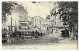 CPA 74 ANNECY Vue Prise Du Théâtre - Annecy