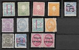 Tonga, Lot Of Differents Stamps - SG. 442 £ - Tonga (...-1970)