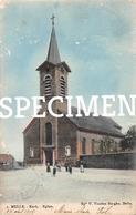 1 Kerk -  Melle Ingekleurd - Melle