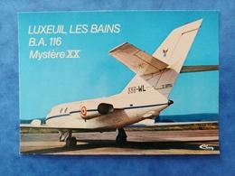 Luxeuil Les Bains  BA116 Mystère XX Haute Saône Franche Comté - Luxeuil Les Bains