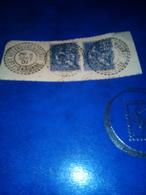 Cachet Facteur Boitier 1901 Sur Fragment VILLENEUVE DE DURAS Haute Garonne Tb - Poststempel (Einzelmarken)