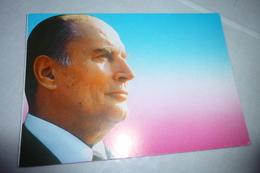 Carte Double Publicitaire F. MITTERAND - Partis Politiques & élections