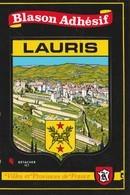 CPSM  84  LAURIS BLASON ADHESIF - France