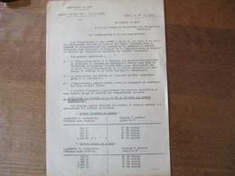 LILLE LE 27 MAI 1941 PREFECTURE DU NORD BUREAU DEPARTEMENTAL DES CHARBONS ANNULATION DES COUPONS DE LA CARTE DE CHARBON - Documents Historiques