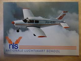 AIRLINE ISSUE / CARTE COMPAGNIE      NLS  / NATIONALE LUCHTVAART SCHOOL  WARRIOR PA-28 - 1946-....: Ere Moderne