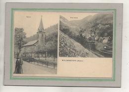 CPA - (68) WILDENSTEIN - Carte Multivues De 1919 - Eglise Et Vue Générale - France