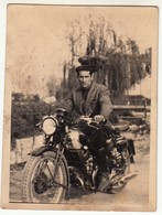 MOTO MOTORCYCLE NON IDENTIFICATA - FOTO ORIGINALE - Other