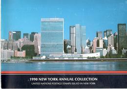 Collection Complète émission Nations-Unies New-York / Genève / Vienne 1990 - VN