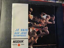 NESQUIK - TOKYO 1964 - JEUX OLYMPIQUES - LIVRET + DISQUE SOUPLE - Chocolate