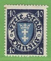 MiNr. 199 X (Falz)  Deutschland Freie Stadt Danzig - Danzig