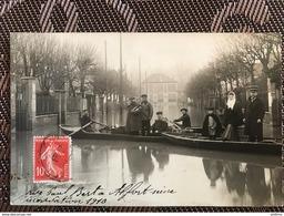 MAISONS ALFORT 94 - Inondations 1910 - Rue Paul Bert - Maisons Alfort