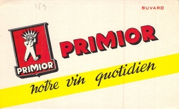 Ancien Buvard Collection LE VIN PRIMIOR NOTRE VIN QUOTIDIEN - Papel Secante
