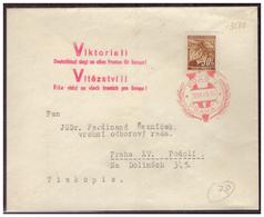 Böhmen Und Mähren (005596) Brief Mit MNR 64 Und Stempel 58 Viktoria- Tagesstempel  Prag Vom 20.7.1941 Und Viktoriast. - Böhmen Und Mähren