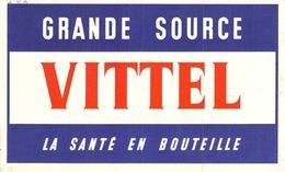 Ancien Buvard Collection EAU DE VITTEL - Carte Assorbenti