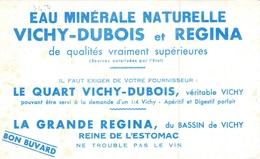 Ancien Buvard Collection EAU DE VICHY DUBOIS REGINA - Buvards, Protège-cahiers Illustrés