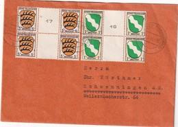ALLEMAGNE 1946 ZONE FRANCAISE LETTRE DE BAD DÜRRHEIM - Zona Francese