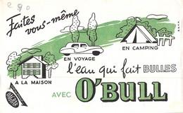Ancien Buvard Collection L EAU QUI FAIT DES BULLES A LA MAISON PRODUIT DAGBAR - Carte Assorbenti