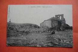 (C1). CPA 15 CANTAL MURAT CHASTEL SUR MURAT. église Gallo Romaine. - Murat
