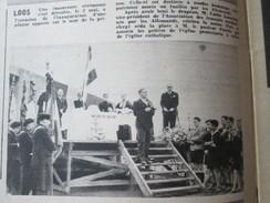 1948  LOOS LES LILLE Inauguration De La Plaque De La Prison - Loos Les Lille