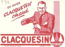 Ancien Buvard Collection CLAQUESIN - Vloeipapier