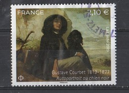 2019 YT/  5333  Obl Ronde  Gustave Courbet - France