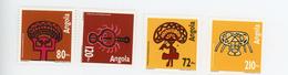 Angola 1992-art Quioca-MasquesYT 878/81***MNH - Angola