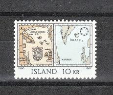 Islanda   -  1967. Carte Geografiche Di Islanda . Islanda Maps. . MNH - Geografía