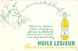 Ancien Buvard Collection HUILE LESIEUR - Buvards, Protège-cahiers Illustrés
