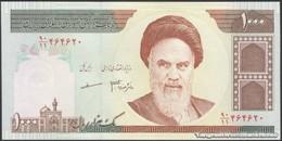 TWN - IRAN 143f - 1000 1.000 Rials 2007-2008 Series 90/11 - Signatures: Mazaheri & Jafaari UNC - Iran
