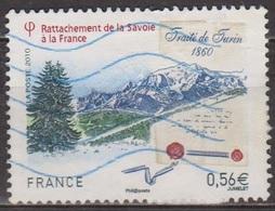 Traité De Turin - FRANCE - Rattachement De La Savoie - N° 4441 - 2010 - Oblitérés