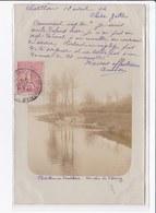 CHATILLON EN VENDELAIS : Carte Photo - Un Coin De L'étang (laveuses) - Très Bon état - Other Municipalities