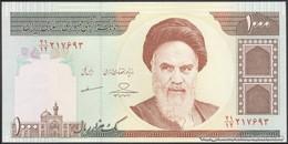 TWN - IRAN 143g - 1000 1.000 Rials 2007-2008 Series 21/12 - Signature: Mazaheri & Hosseini UNC - Iran