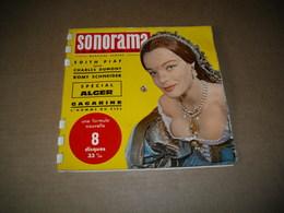Sonorama N°30 - Romy Schneider  8 Disques Souples - Vinyl Records