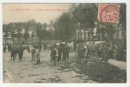 60 - Beauvais - La Place Du Franc-Marché - Beauvais