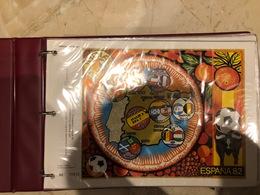 Timbres CEF De France De 1980-1985 - Colecciones (en álbumes)