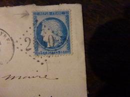 Lot 26.01.20_variété Suarnet Sur N°60TIII Sur LSC De La Neuve Lyre (26) A Voir! - 1871-1875 Cérès