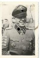 Orig Photo All WW 2 : XX ELITE : KAISER , 17° XX PZDiv . Normandie 44  . Ritterkreuz Des Eisernen Kreuzes - 1939-45